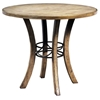 Charleston Round Counter Set with Ladder Back Stools - HILL-4670CTBWS5