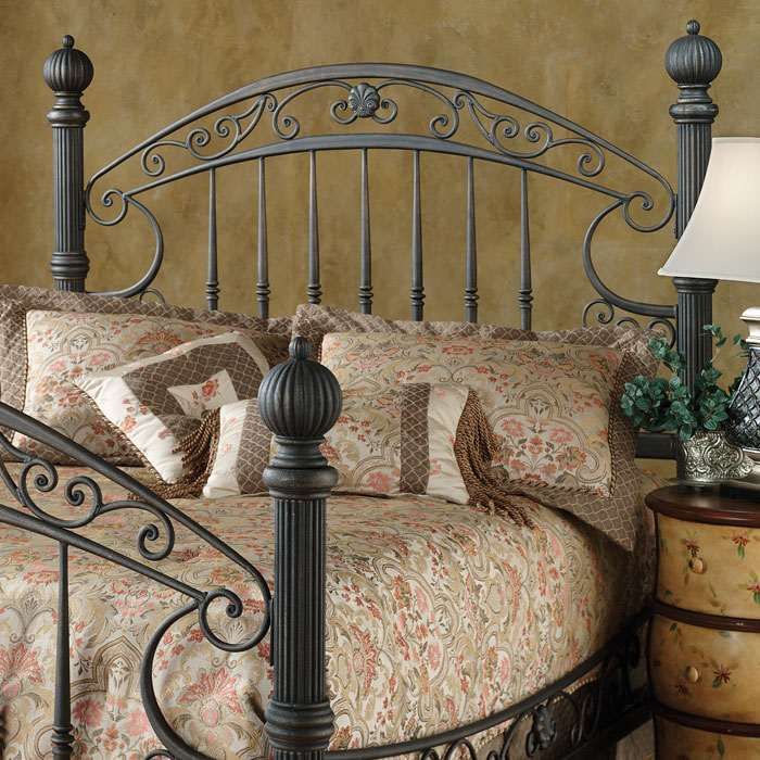 Chesapeake Rustic Old Brown Finished Headboard