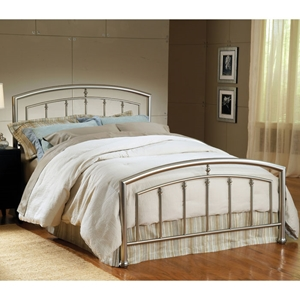 Claudia Arched Metal Bed