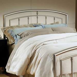 Claudia Arched Metal Headboard with Frame
