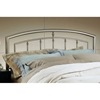 Claudia Arched Metal Headboard with Frame - HILL-1685H