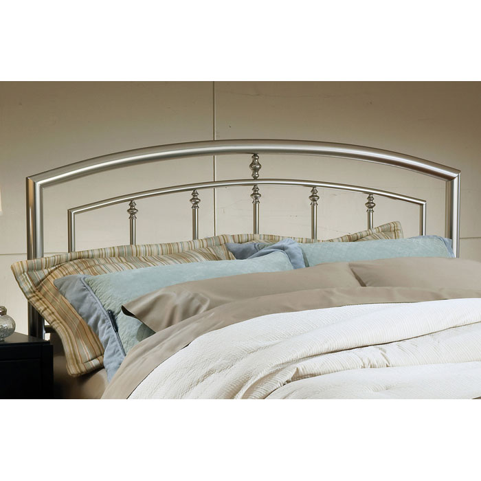 Claudia Arched Metal Headboard - HILL-1685