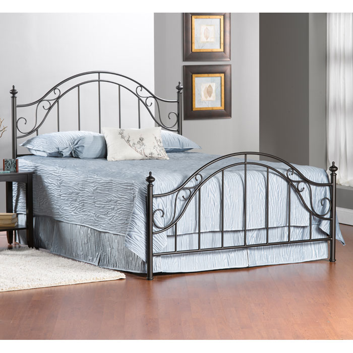 Clayton Metal Bed - HILL-1681B