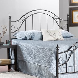 Clayton Metal Bed Headboard with Frame