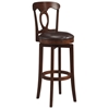 Corsica Swivel Bar Stool in Brown - HILL-4166-832