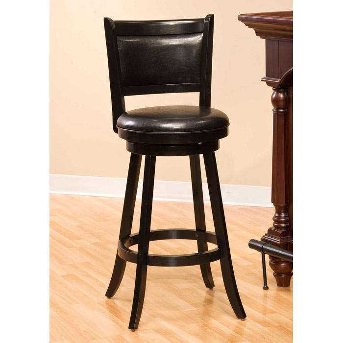 Dennery Black Swivel Bar Stool DCG Stores : dennery stool black from www.dcgstores.com size 700 x 700 jpeg 81kB