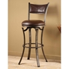 Drummond 26 Metal Swivel Counter Stool In Brown Dcg Stores