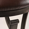 "Drummond 30"" Metal Swivel Bar Stool in Brown - HILL-4919-830"