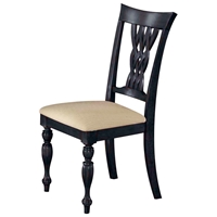 Embassy Side Chair with Carved Legs