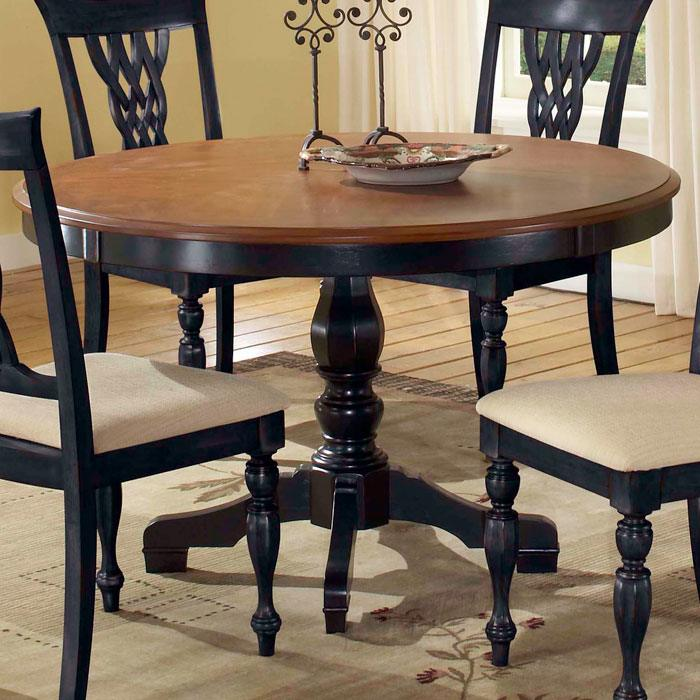 Embassy Round Pedestal Table - HILL-4808DTB48