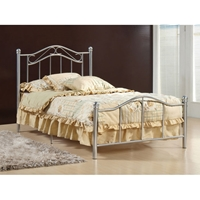 Gavin Single Metal Bed in 3 Colors