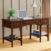 Gresham Wooden Office Desk in Cherry - HILL-4379-861S