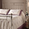 Holland Nickel Finish Headboard with Frame - HILL-1251HX