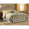Imperial Bed in Twinkle Black - HILL-1546BX