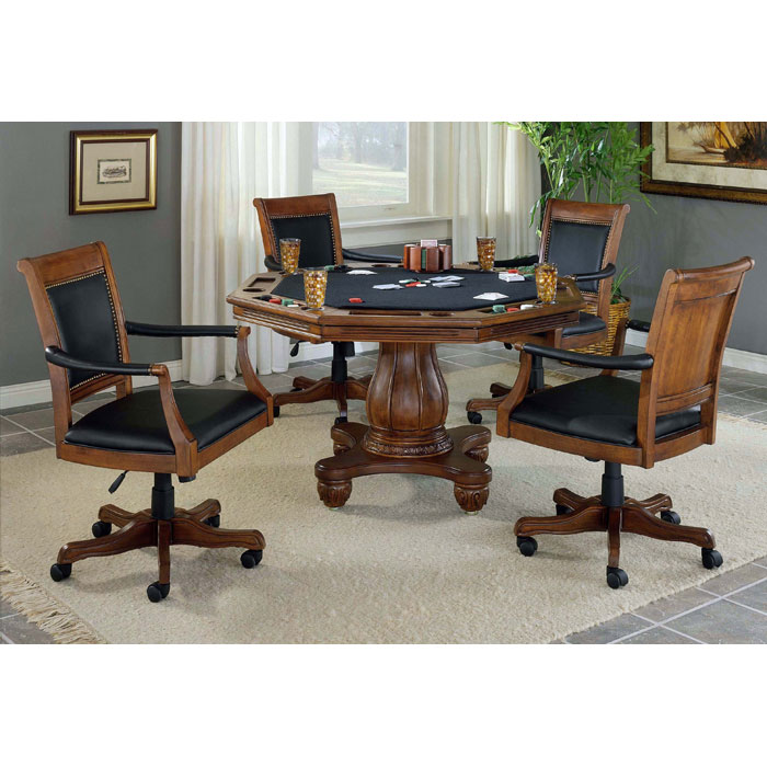 Kingston Game/Dining Table in Light Cherry - HILL-6004GTB
