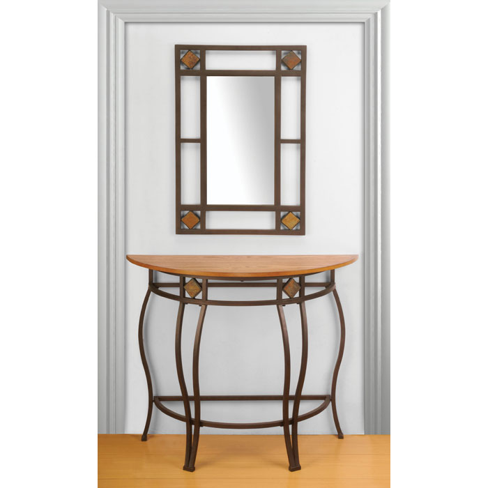 Lakeview Console Table and Mirror