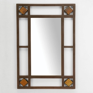 Lakeview Metal Frame Console Mirror