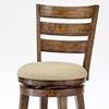 "Lenox 26"" Wooden Swivel Counter Stool in Chestnut - HILL-4719-826"