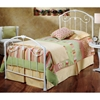 Maddie Twin Trundle Bed - HILL-325BTWHTR