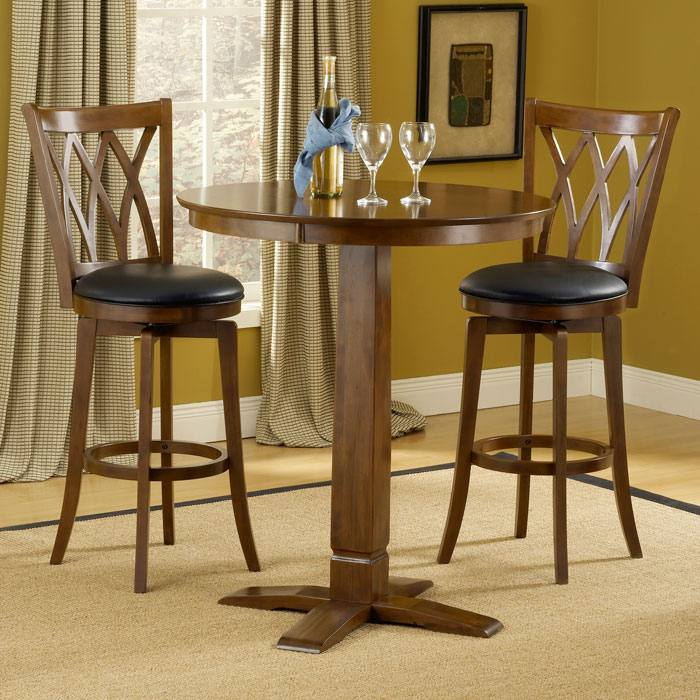 Mansfield 3 Piece Pub Set - HILL-4975PTBBRNS2MF