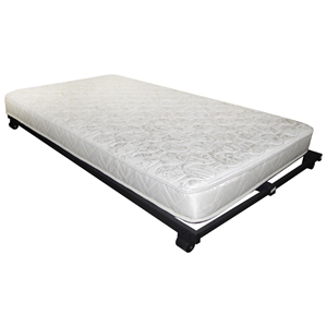 "5"" High Density Foam Rolled Twin Mattress"