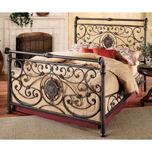 Mercer Sleigh Bed