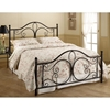 Milwaukee Bed in Antique Brown - HILL-1014BX