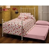 Molly Twin Trundle Bed - HILL-1XBTWHTR