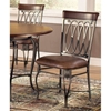 Montello Brown 3 Piece Round Dining Set - HILL-41541DTB36C3
