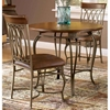 "Montello 36"" Wood Top Round Dining Table - HILL-41541DTB36"
