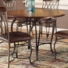 "Montello 45"" Wood Top Round Dining Table - HILL-41541DTB45"