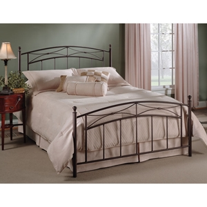 Morris Bed in Magnesium Pewter
