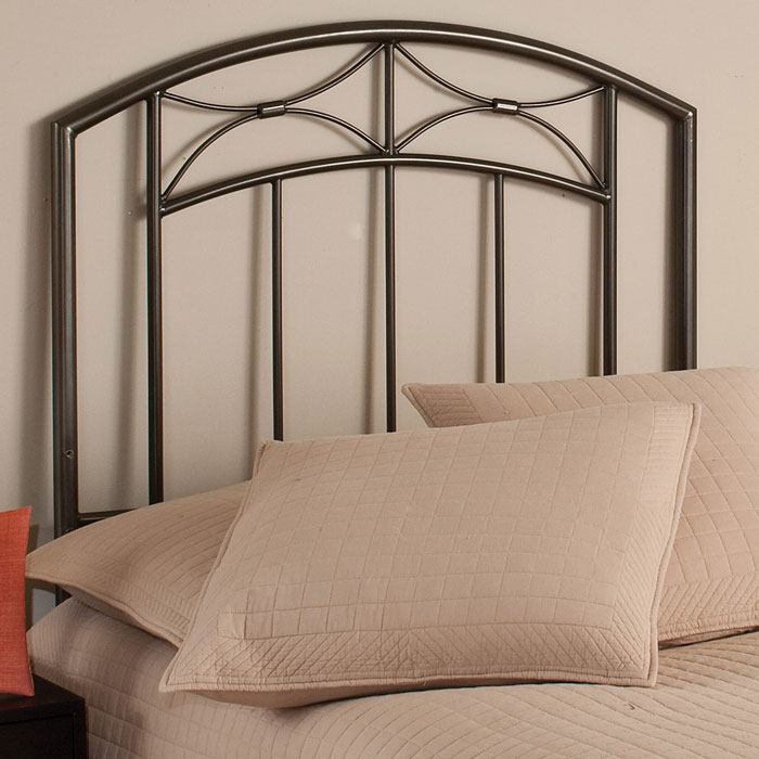 Morris Headboard in Magnesium Pewter - HILL-1545