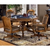 Nassau Wood Game/Dining Table in Brown - HILL-6060GTB