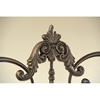 Newton Antique Metal Headboard with Frame - HILL-1756H