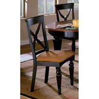 Northern Heights Dining Chair with Fabric Seat