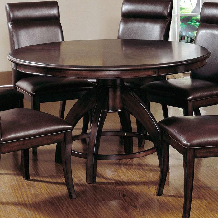 Nottingham Round Pedestal Dining Table - HILL-4077DTB