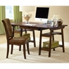 Park Glen Wooden Office Desk and Chair in Cherry - HILL-4379PD