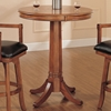 Park View 3 Piece Bar Set with Traditional Stools - HILL-4186PTBS