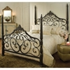 Parkwood Four Poster Bed in Black and Gold