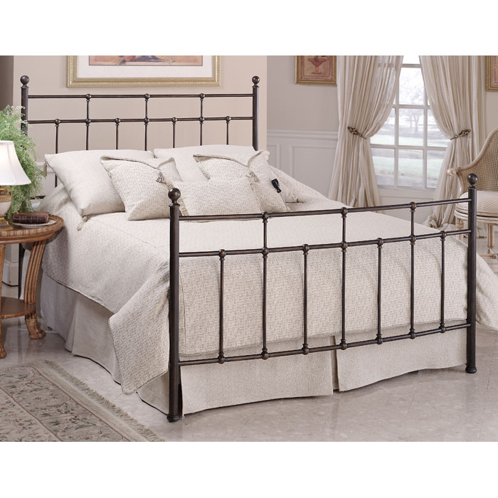 Providence Bed in Antique Bronze - HILL-380BX