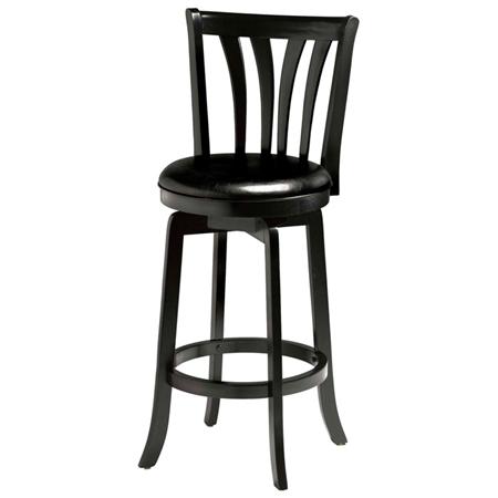 savana 25 5 swivel wood counter stool black dcg stores