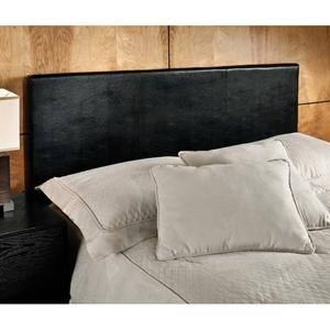 Springfield Upholstered Black Headboard with Frame