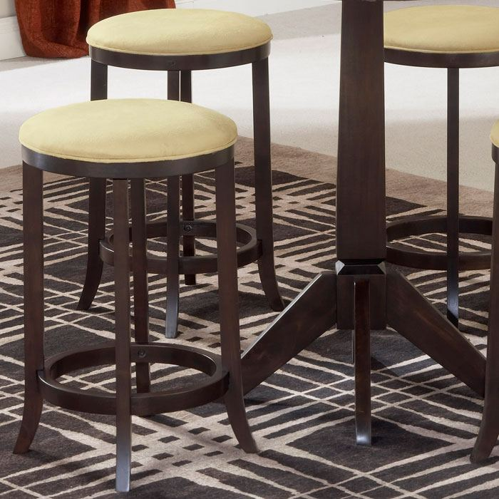 Tiburon 5 Piece Counter Set With Backless Stools Dcg Stores