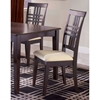 Tiburon Espresso Side Chairs - HILL-4917-802