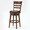 "Villagio 26"" Ladder Back Swivel Counter Stool - HILL-4685-827"