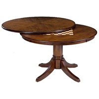 Warrington Round Rich Cherry Game/Dining Table