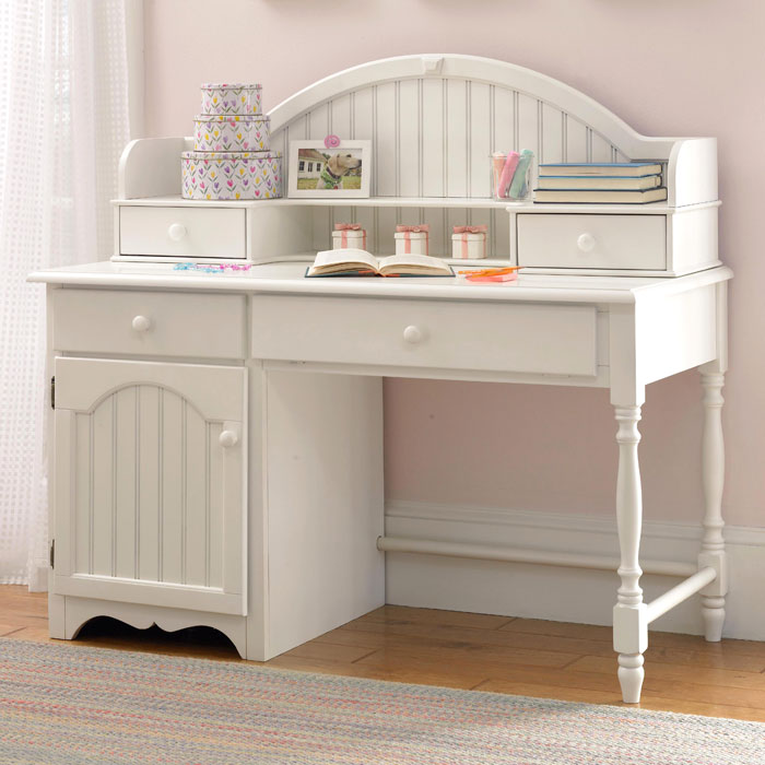 Westfield Wood Desk with Hutch