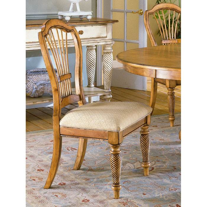 Wilshire 7 Piece Rectangle Dining Set With Arm Chairs