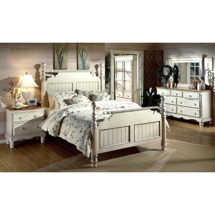 Wilshire 5 Piece Post Bedroom Set Dcg Stores